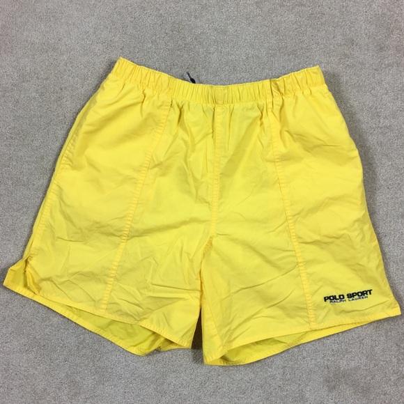397ef5f7a1 ... Swim Trunks Yellow Medium. M_5aa1f57d1dffdaea5998aa29. Other Swims you  may like. EUC Men's Polo Sport Ralph Lauren Shorts